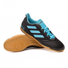 Futsal Boot Predator 19.4 IN Sala Core black-Bright cyan-Solar yellow