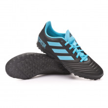 Chaussure de football Predator 19.4 Turf Core black-Bright cyan-Solar yellow