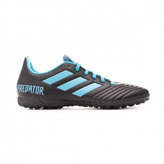 Sapatilhas adidas Predator 19.4 Turf Core black-Bright cyan-Solar yellow