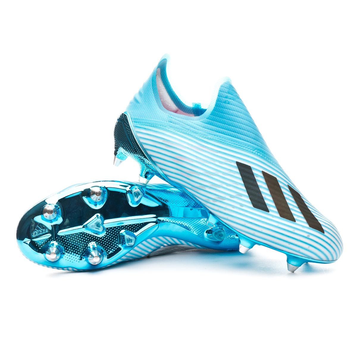 salud Privación conversión  Football Boots adidas X 19+ SG Bright cyan-Core black-Shock pink - Football  store Fútbol Emotion