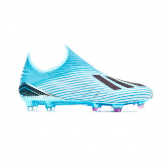 Football Boots adidas X 19+ FG Bright cyan-Core black-Shock pink