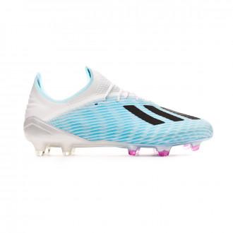 Scarpe  adidas X 19.1 FG Bright cyan-Core black-Shock pink