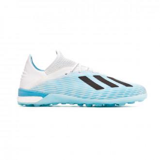 Football Boots  adidas X 19.1 Turf Bright cyan-Core black-Shock pink