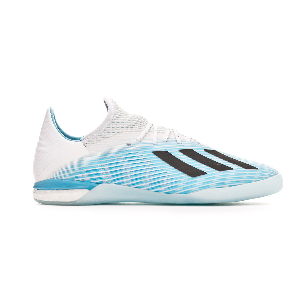 583d4543 Futsal Boot adidas X 19.1 IN Bright cyan-Core black-Shock pink - Football  store Fútbol Emotion
