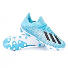 Football Boots X 19.3 MG Bright cyan-Core black-Shock pink
