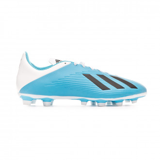 Chuteira adidas X 19.4 FxG Bright cyan-Core black-Shock pink