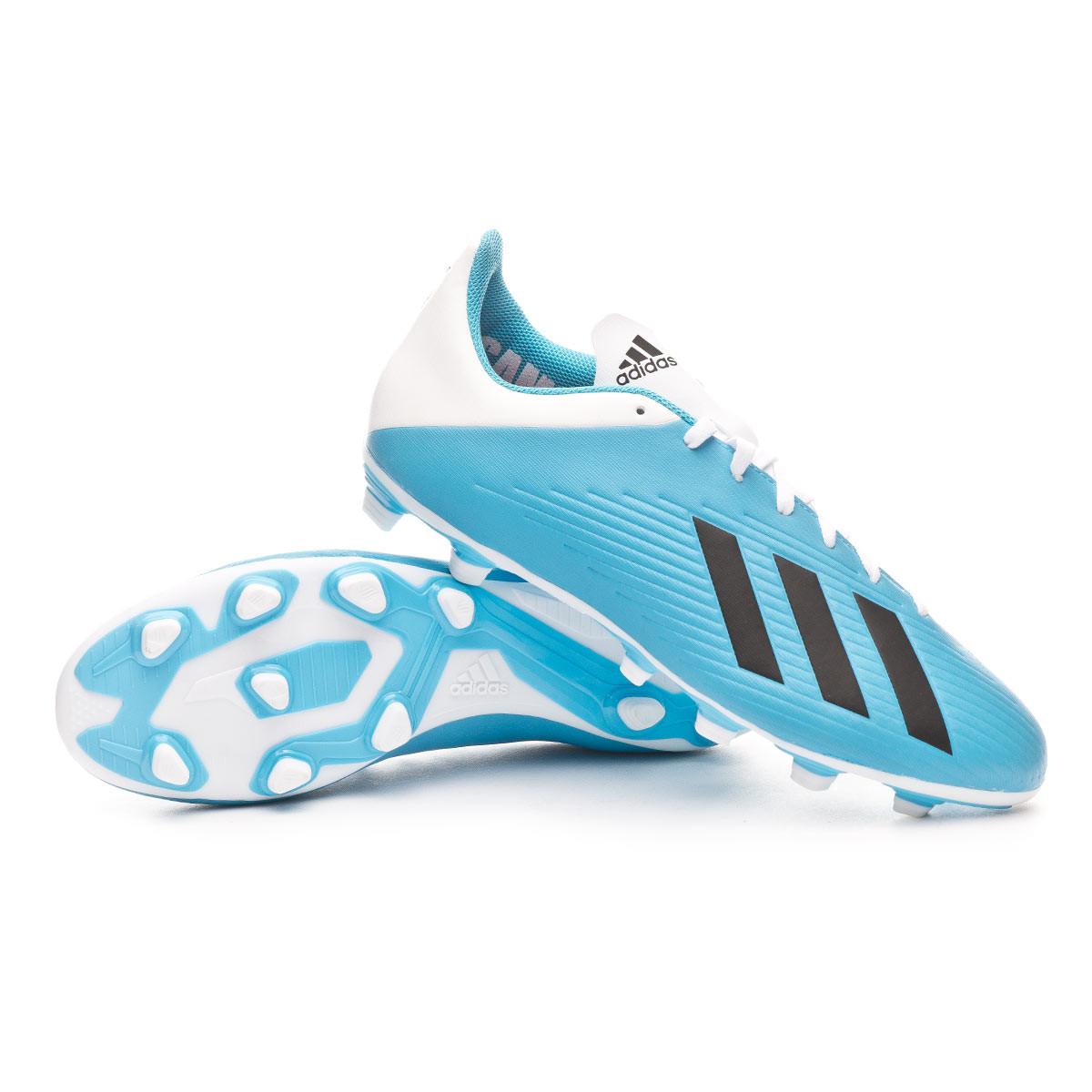 fallimento Seminario Pietra miliare  Football Boots adidas X 19.4 FxG Bright cyan-Core black-Shock pink -  Football store Fútbol Emotion