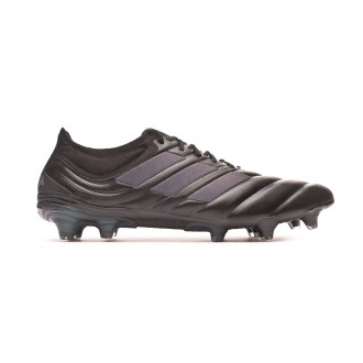 Chaussure de foot adidas Copa 19.1 FG Core black-Silver metallic