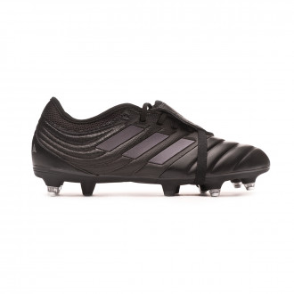 Chaussure de foot adidas Copa Gloro 19.2 SG Core black-Silver metallic
