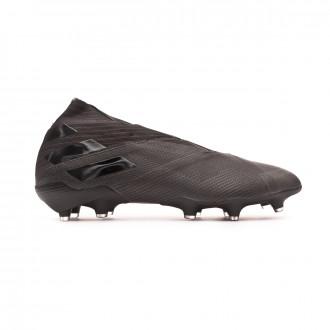 Chaussure de foot adidas Nemeziz 19+ FG Core black-Utility black