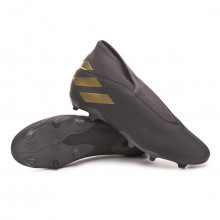 Chuteira Nemeziz 19.3 LL FG Core black-Gold metallic-Utility black