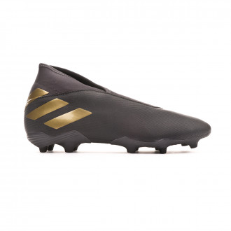 Football Boots  adidas Nemeziz 19.3 LL FG Core black-Gold metallic-Utility black
