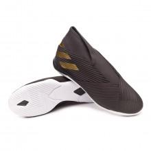 Sapatilha de Futsal Nemeziz 19.3 Laceless IN Core black-Gold metallic-Utility black
