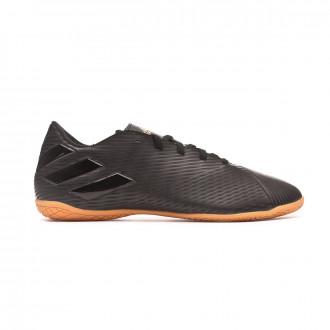 Sapatilha de Futsal adidas Nemeziz 19.4 IN Core black-Utility black