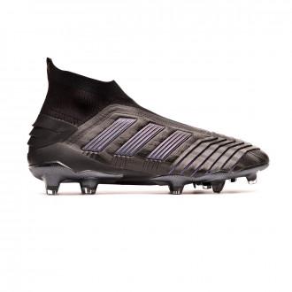 Bota adidas Predator 19+ FG Core black-Utility black