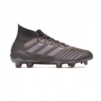 Football Boots  adidas Predator 19.1 FG Core black-Utility black