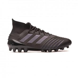 Chaussure de foot  adidas Predator 19.1 AG Core black-Utility black