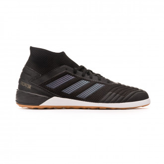 Sapatilha de Futsal adidas Predator 19.3 IN Core black-Gold metallic
