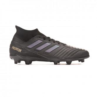 Football Boots  adidas Predator 19.3 FG Core black-Gold metallic