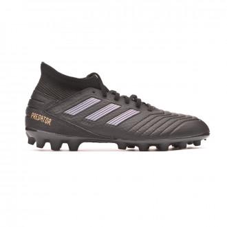 Football Boots  adidas Predator 19.3 AG Core black-Gold metallic