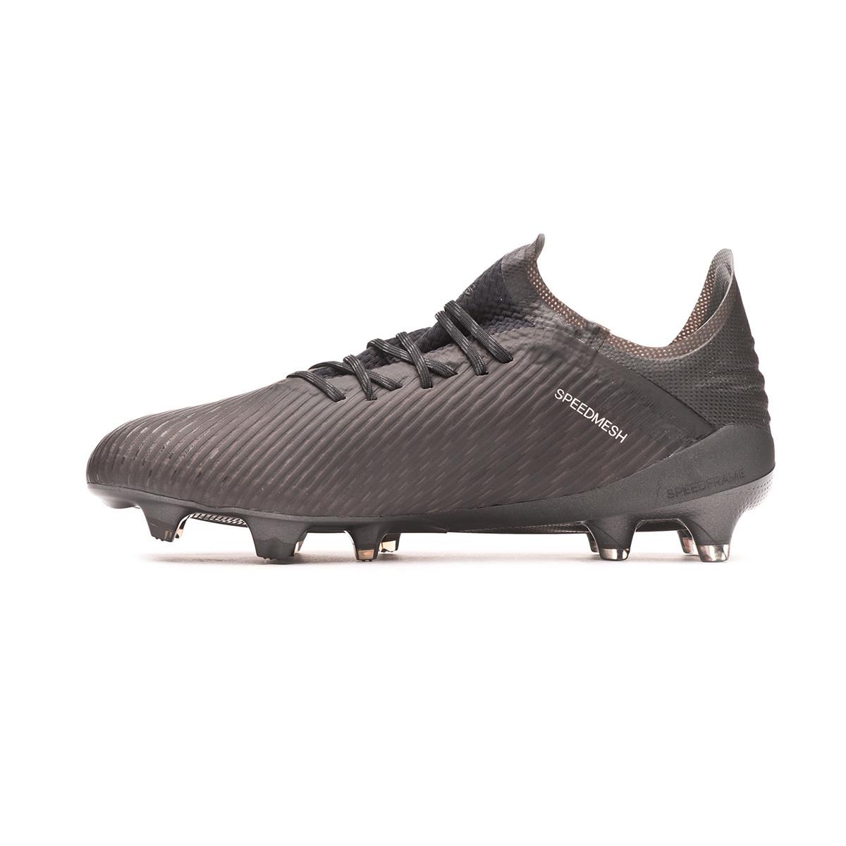 Scarpe adidas X 19.1 FG Core black Utility black Silver