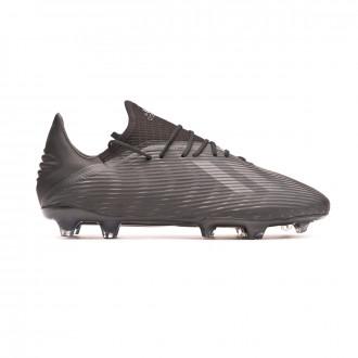 Bota  adidas X 19.2 FG Core black-Utility black-Silver metallic