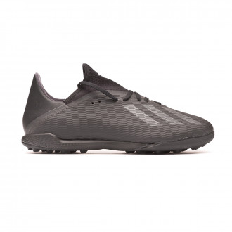 Football Boot  adidas X 19.3 Turf Core black-Utility black-Silver metallic