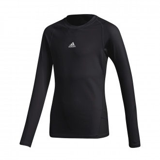 Jersey  adidas Kids Alphaskin m/l  Black