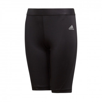 Sliders  adidas Kids Alphaskin Tight  Black
