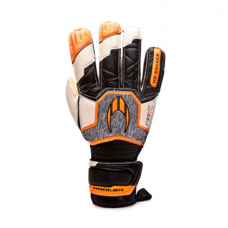 Glove  HO Soccer Basic Protek Flat Orange legend