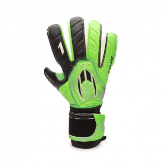 Glove  HO Soccer One Negative Storm green