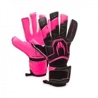 Glove  HO Soccer Premier Guerrrero Hybrid Roll/Negative Storm pink