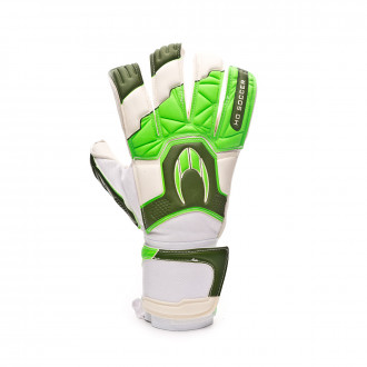 Guanti HO Soccer Guerrero Pro Hybrid Roll/Negative Green spark
