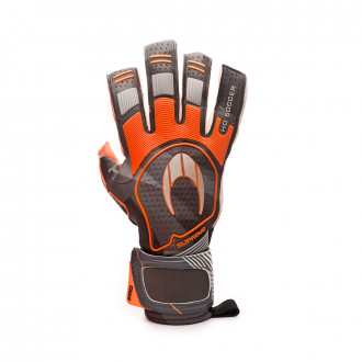 Guante  HO Soccer Supremo Pro II Roll/Negative Orange spark