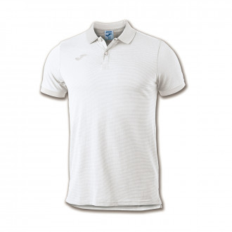 Polo Joma Essential m/c Blanco