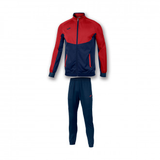 Tracksuit Joma Essential Micro Red-Navy blue