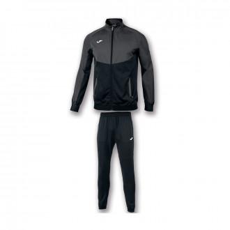 Conjunto pants Joma Essential Micro Antracita-Negro