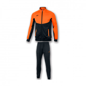 Survêtement Joma Essential Micro Orange-Noir