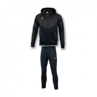 Conjunto pants Joma Con Capucha Essential Antracita-Negro