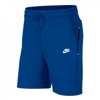 Shorts  Nike Sportswear Tech Fleece 2019 Indigo force-White