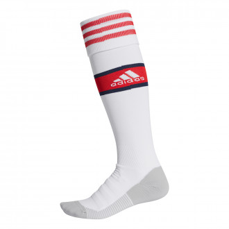 Football Socks  adidas Arsenal FC Primera Equipación 2019-2020 White-Scarlet