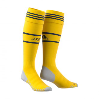 Football Socks  adidas Arsenal FC Segunda Equipación 2019-2020 Yellow-Collegiate navy