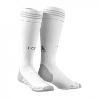 Football Socks adidas Bayern Munich 2019-2020 Away White-Ash