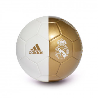 Balón  adidas Mini Real Madrid 2019-2020 White-Dark football gold