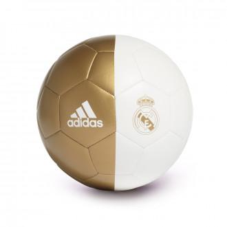 Balón  adidas Capitano Real Madrid 2019-2020 White-Dark football gold