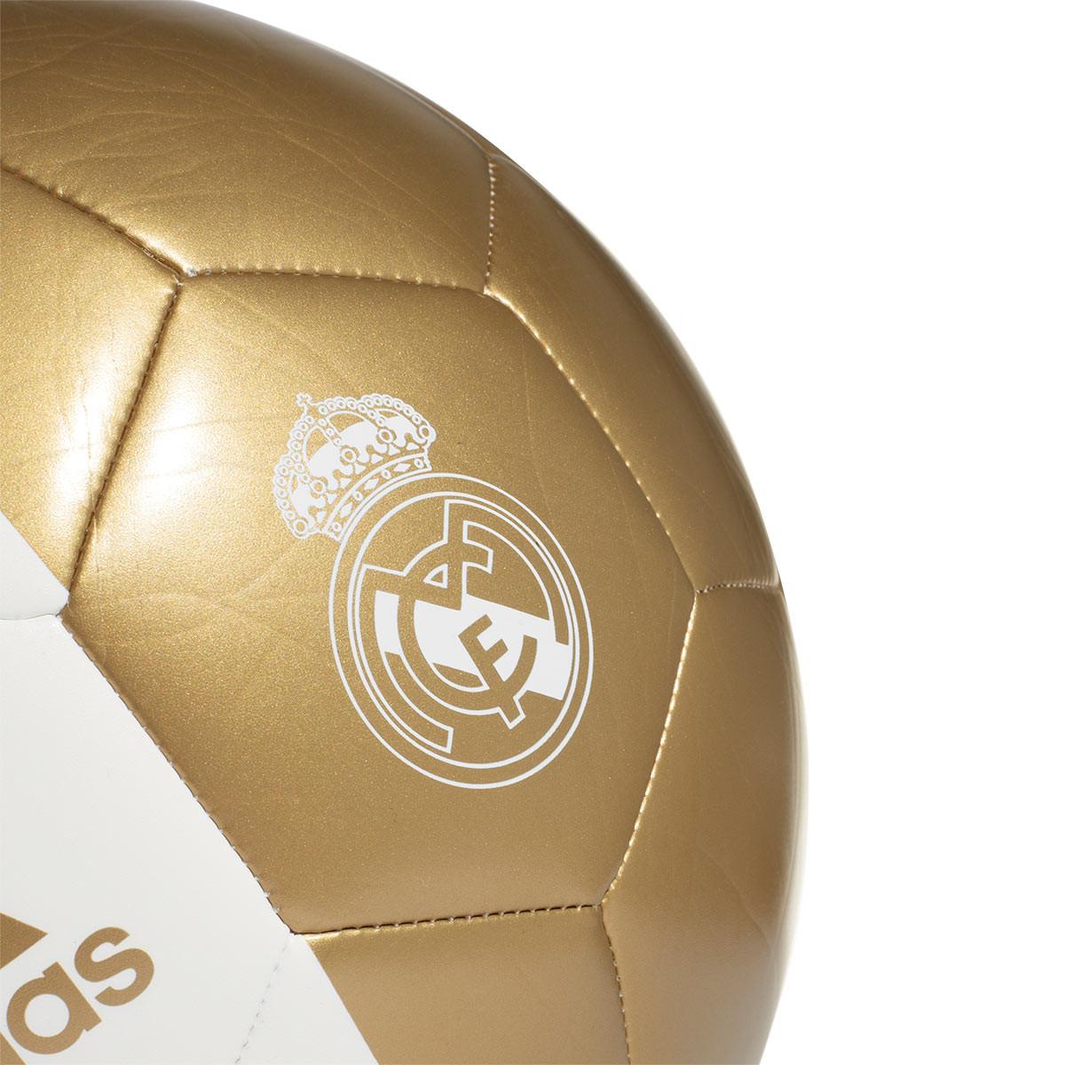 d3d5c0ba0 Balón adidas Capitano Real Madrid 2019-2020 White-Dark football gold -  Tienda de fútbol Fútbol Emotion