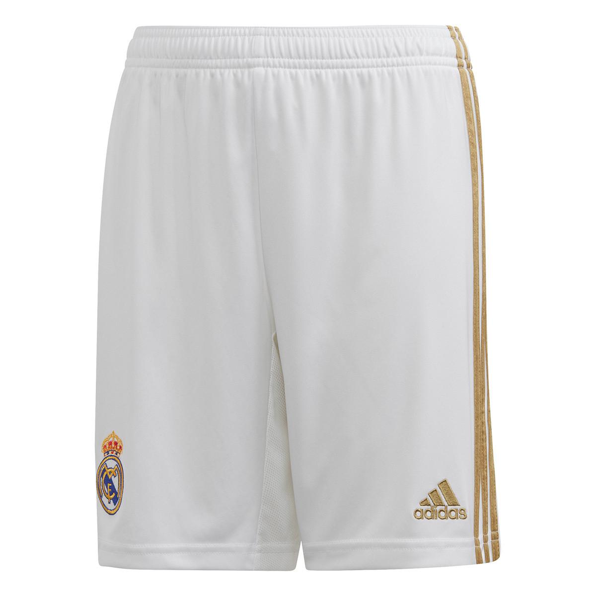 Conjunto adidas Real Madrid Equipamento Principal 2019 2020 Criança
