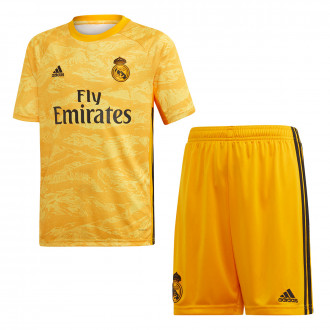 Tenue  adidas Real Madrid Gardien Domicile 2019-2020 Enfant Collegiate gold