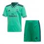 Conjunto Real Madrid Tercera Equipación 2019-2020 Niño HI-Res green