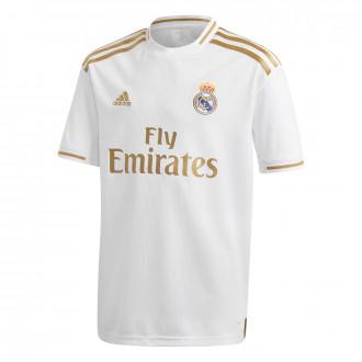 Maglia  adidas Real Madrid Primera Equipación 2019-2020 Niño White